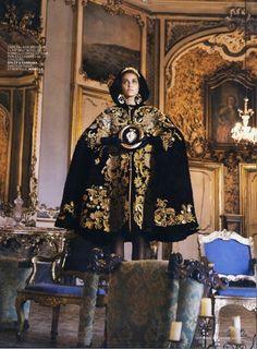 Dolce & Gabbana Michael Roberts frames FW13 for L'Officiel France, September 2012