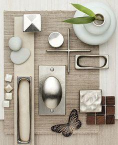 calm organic contemporary palette