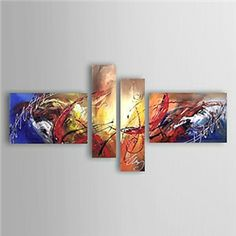Hand-painted Abstract Oil Painting with Stretched Frame - Set of 4 - See more at: http://homelava.com/en-hand-painted-abstract-oil-painting-with-stretched-frame-set-of-4-p10906.htm#sthash.7iDsvX6n.dpuf