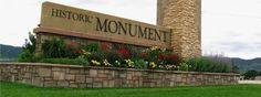 Monument Colorado offers easy access to the United States Air Force Academy and for commuting south to Colorado Springs and north to Denver. Monument Colorado, Homes England, Exit Realty, Air Force Academy, School District, Colorado Springs, Small Towns, Brighton, New Homes
