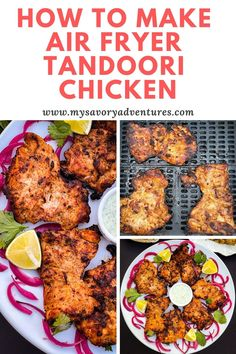 Indian Food Recipes, Diet Recipes, Chicken Recipes, Chicken Flavors, Ethnic Recipes, Air Fryer Dinner Recipes, Air Fryer Recipes, Air Fryer Cooking Times, Wonderful Recipe