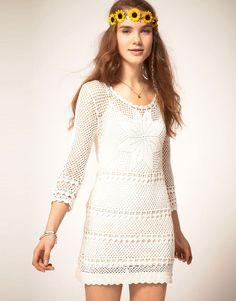 Un #vestido #crochet será tu aliado perfecto para un #outfit de ensueño.
