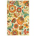 This will be the living room rug.LOVE this rug! Al Fresco 7 Feet 10 Inch Beige Floral Rug Floral Area Rugs, Floral Rug, Beige Area Rugs, Fresco, Shaw Rugs, Nebraska Furniture Mart, Rugs Usa, Indoor Outdoor Area Rugs, Contemporary Rugs