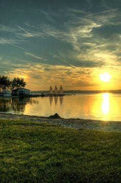 Fertő-Hanság Nemzeti Park City People, Cities, Nostalgia, To Go, Landscapes, National Parks, Europe, River, Celestial