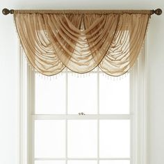 Buy Royal Velvet® Crushed Voile Waterfall Valance today at jcpenney.com. You deserve great deals and we've got them at jcp!