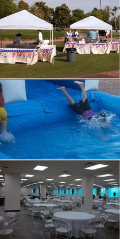 AZ Party Zone is a company that provides water bounce house rental