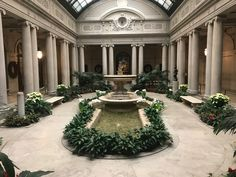 Frick museum. Beautiful and serene
