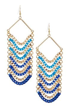 Statement Earrings by Bansri  Bipasha Chandelier Earrings