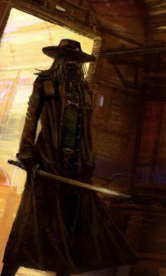 The Power of Blade  Amazing Illustration