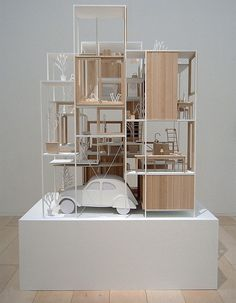Sou Fujimoto - House NA - model 01.jpg   準建築人手札網站 Forgemind …   Flickr