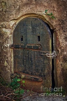 Dungeon Door photo by Joan Carroll.