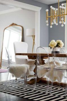 Lasting mid century dining room table & decor ideas (34)