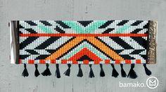 Manchette en perles tissées Navajo   ByMeg&Co