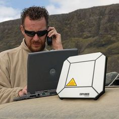 The Explorer 510 BGAN terminal is the most portable, global WiFi hotspot providing both Internet and phone service, even to your smartphones. These super rugged terminals survive in any extreme environment.
