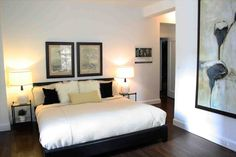 New simple bedroom design for men at homelivings.info