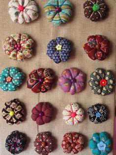 Florecitas de tela