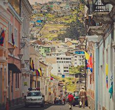 Calles de mi Quito Equador
