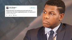 'Star Wars' actor John Boyega apologises for 'not clarifying' diversity comments http://ift.tt/1Ra8sbs  LONDON  Star Wars actor John Boyega took to Twitter Sunday to apologise for not clarifying comments he made about diversity in a speech at Saturdays Screen Nation Film and Television Awards.  SEE ALSO: Every major celebrity whos commented on the Oscars diversity controversy  Boyega won the award for Best Male at the event which celebrates leading professionals of UK & global African…