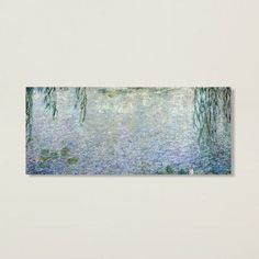 You'll love the 'Water Lilies, Morning' by Claude Monet Painting Print on Canvas at Wayfair - Great Deals on all Décor  products with Free Shipping on most stuff, even the big stuff.
