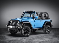 JEEP wrangler rubicon mopar ONE all-terrain vehicle  www.designboom.com