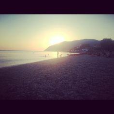 Plomari sunset@Lesvos,Greece
