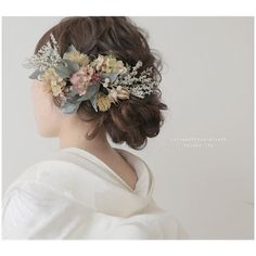 Up Hairstyles, Wedding Hairstyles, Fairy Hair, Wedding Dressses, Wedding Kimono, Japanese Wedding, Hair Arrange, Bridal Hair Flowers, Japanese Outfits