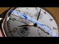 En la muñeca: #IWC Portugieser Calendario Perpetuo Digital 75 Aniversario | Horas y Minutos