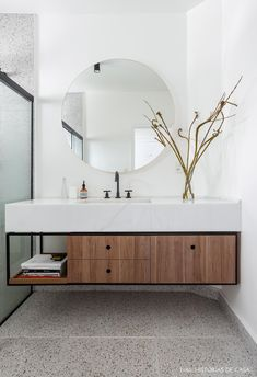 Did you know that the Bathroom Countertops or toilet is one of the main items of decoration to enhance and define the style of your environment? Bathroom Design Inspiration, Bad Inspiration, Bathroom Interior Design, Bathroom Designs, Bathroom Renovations, Home Renovation, Ikea Bed Slats, Mold In Bathroom, Bathroom Countertops