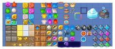Психология зрительного восприятия. Заметки на полях Match-3. Часть 1. — Компьютерная графика и анимация — Render.ru Game Icon Design, Match 3 Games, Game Item, Game Ui, Animals And Pets, Puzzle, Concept, Tile, Ui Design