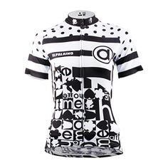 Paladin Cycling Jersey for Women Black Spots Pattern Bike Shirt Short  Sleeve Size S    3dbd0b781