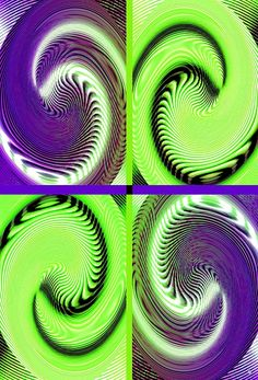 """An engaging abstract fusion design consisting of four swirl ovals to capture the eye, lift the spirits and brighten the room. Treat yourself or someone special in your life to an elegant framed print or choose from a number of other products with this design that are listed right here. It's so convenient to shop right from home. """"Abstract Fusion 271"""" #AbstractFusion271 #FourPartUniqueArt #SwirlOvalArt"""
