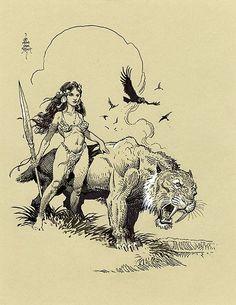 William Stout Comic Art