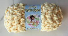 Bernat Baby PomPom Yarn Sunny Yellow 22615 ~ 3.5 oz Skeins / Baby PomPom Yarn by dcoyshouseofyarn on Etsy