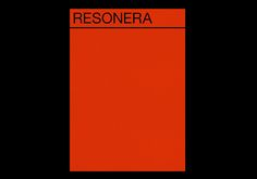 Resonera on Behance