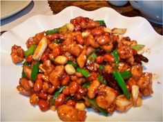 Kung Pao Chicken with 'Soyless' Soy Sauce    Fiona F sent in her husband's favourite 'intolerant friendly' recipe for Kung-Pao chicken which is egg, milk and wheat free. She also has a recipe for her own soy sauce for those of you with a soy intolerance.