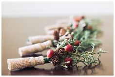 grooms style, boutonnieres, winter wedding / Scarritt Bennett / Urban wedding / traditional wedding / boho / Sarah Sidwell Photography / Nashville, Franklin, Brentwood, Tennessee Photographer
