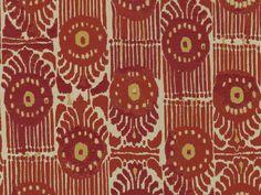 Perennials Fabrics Road Trippin': Bazaar - Red Coral