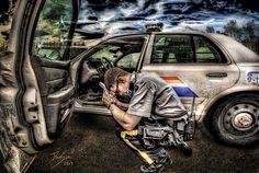 RCMP - Emergency Response Art