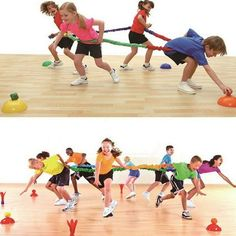 Elastic Fleece Cooperative Stretchy Band Integrations Dynamic Movement Exercise Latex Band Stretchy 12 Feet Creative Movement Prop for Group Activities Special Needs Large Motor Coordination – Tegan Toyz Large Group Games, Group Games For Kids, Outdoor Games For Kids, Games For Teens, Family Games, Kids Team Building Games, Outdoor Team Building Activities, Outdoor Education, Physical Education Games