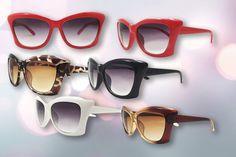 Retro Cat's Eye Sunglasses - 2 Pairs!