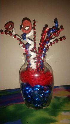 Spider-Man center-pieces