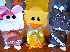 Easter treats made with the Big Shot and Top Note die. Cute & easy!!!