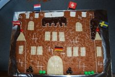 Ritterburg-Kuchen