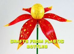 Ideas for the garden. Crafts from plastic bottles | GOOD HOUSE WIFE
