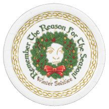 Remember The Reason Yuletide Wreath - Paper Plate 9 Inch Paper Plate