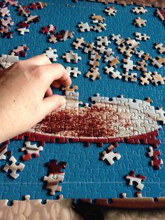 Erstmal die Tassen , hmmmm Könnte ja mal eben einen Trinken , sieht so toll aus mit dem Schaum :-D Schaum, Puzzle, Awesome Things, Paper Board, Drinking, Puzzles, Puzzle Games, Riddles