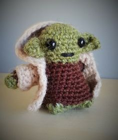 Yoda - Based on pattern from LucyRavenscar