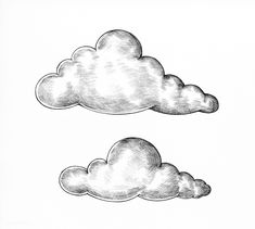 Cloud Illustration, Ink Illustrations, White Aesthetic Photography, Van Gogh Drawings, Cloud Drawing, Writing Art, Black And White Drawing, Art And Technology, Mail Art