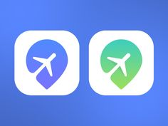 Travel App Icon Travel App Icon,appIcons Great use of negative space to incorporate 2 subjects into one: an airplane and a map icon symbol to represent traveling. It's easily understandable what this app icon. Web Design, App Icon Design, Logo Design, Graphic Design, Media Design, Travel Icon, Travel Logo, Launcher Icon, Mobile App Icon