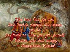 Sri Nisargadatta Maharaj quote